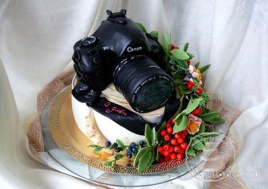 торты фотоаппараты